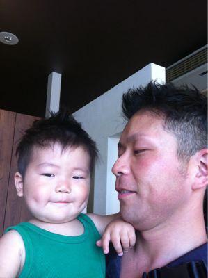 パパとお揃い♡_b0194266_1821189.jpg