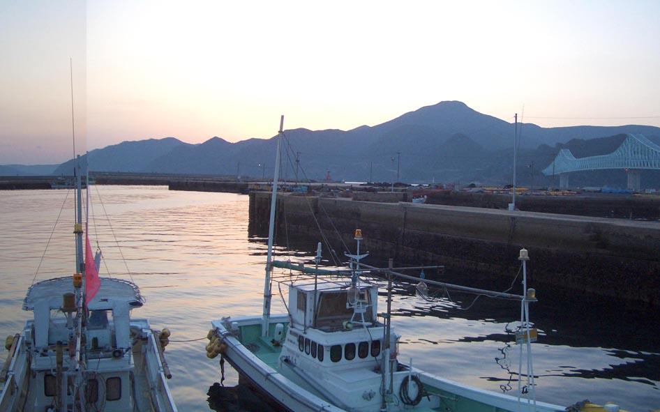 舘浦漁港 水彩画_f0176370_172419.jpg