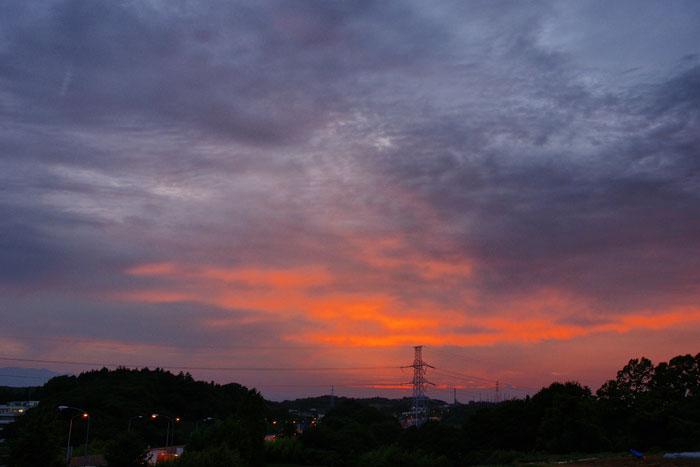(たぶん)梅雨明けの夕_e0077521_22274361.jpg