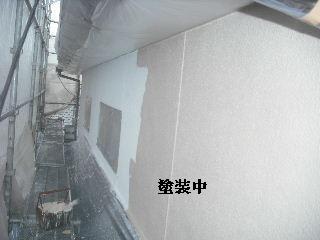 塗装工事3日目_f0031037_20223593.jpg