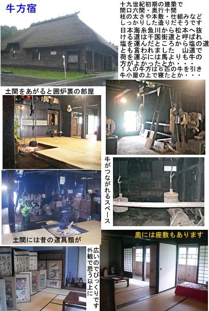 「おひさま」コース(奈良井宿・松本・安曇野)と白馬・栂池 その5_a0084343_1155775.jpg