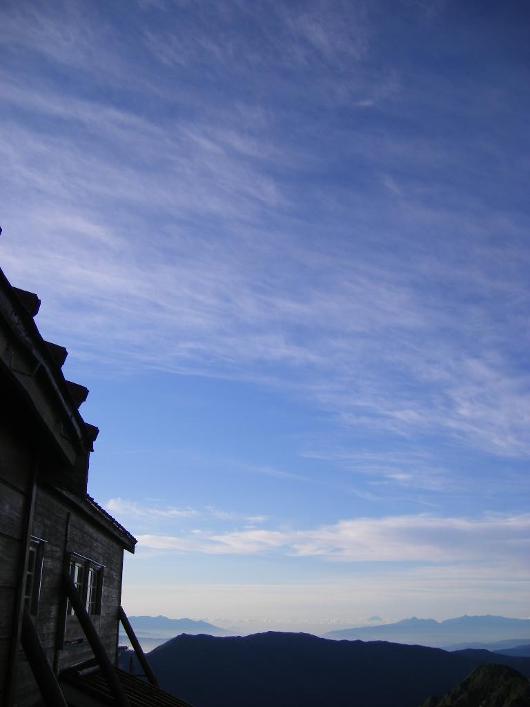 富士山が遠くに見えました!_f0219043_8101693.jpg