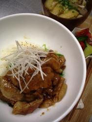 7/8丼ごはん:Buta丼_a0116684_20573825.jpg