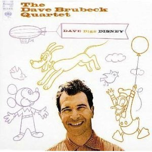 The Dave Brubeck Quartet 「Dave Digs Disney」 (1957)_c0048418_19584746.jpg