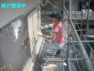 外壁塗装 4日目_f0031037_19342546.jpg