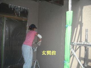 外壁塗装 4日目_f0031037_1936289.jpg