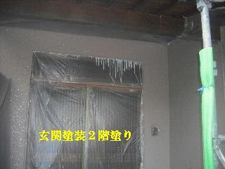 外壁塗装 4日目_f0031037_1937921.jpg