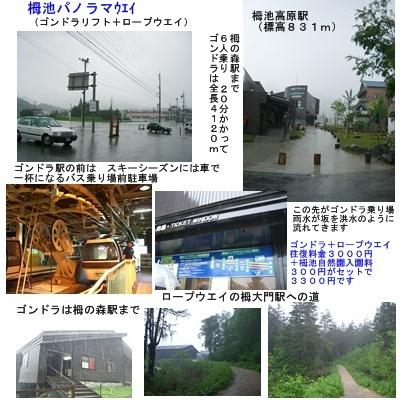 「おひさま」コース(奈良井宿・松本・安曇野)と白馬・栂池 その5_a0084343_1653643.jpg