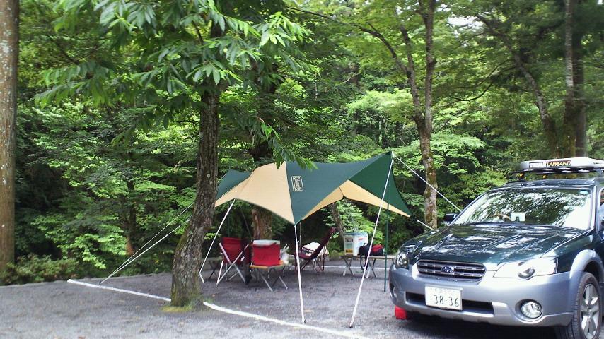 せせらぎキャンプ場からこんにちは(・∀・)ノ_b0008655_10204175.jpg