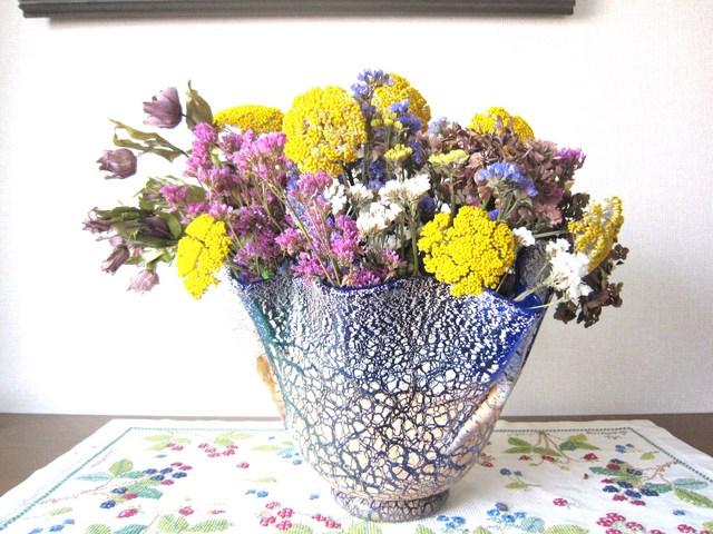122. 紫陽花のアレンジメント_e0233674_1344432.jpg