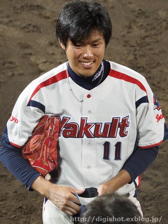 由規投手退団、由くんは当ブログを始めるきっかけとなった選手でした。思い出のフォト!_e0222575_9533827.jpg