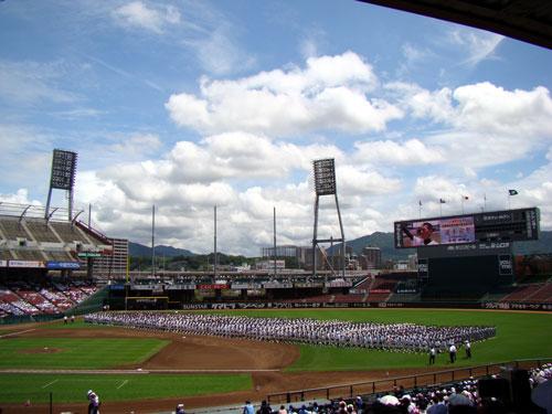 高校野球開会式_a0047200_2055271.jpg