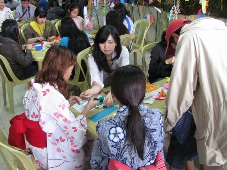 たなばた祭&コスプレ Tanabata workshop - July 9_a0109542_1843427.jpg