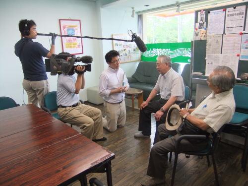 NHK「クローズアップ現代」の取材がありました。_c0113948_1104487.jpg