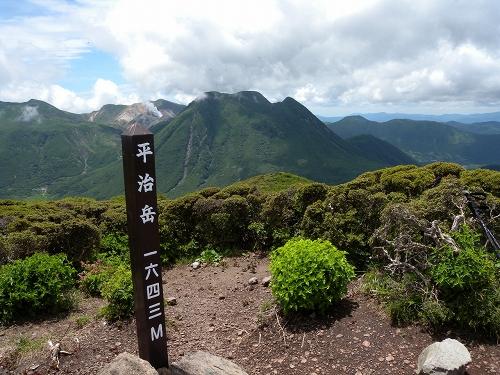 九重 平治岳へ_b0161750_2244485.jpg
