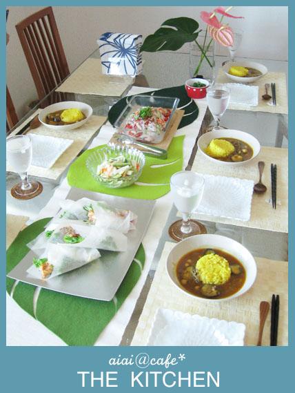 夏はスパイシーメニューで!7月の料理教室スタート_a0056451_1743963.jpg
