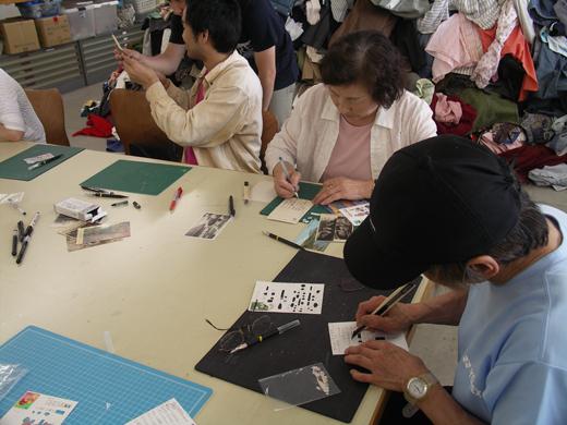 飯田竜太WS「絵ハガキで作品をつくろう!」/IIDA Ryuta Workshop _c0216068_19404433.jpg