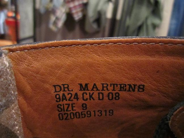 "Used \""Danner & DR.MARTENS SHOES\"" 更新!_f0191324_1024267.jpg"