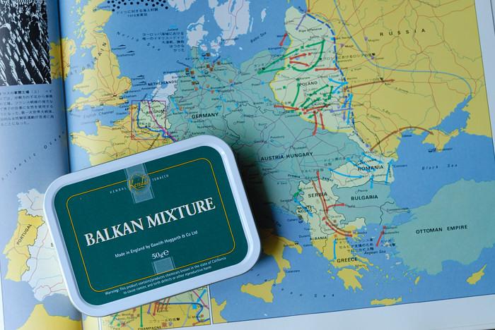 ガーウィズ・ホガース:  バルカンミクスチャー( Balkan Mixture)_a0150949_16483676.jpg