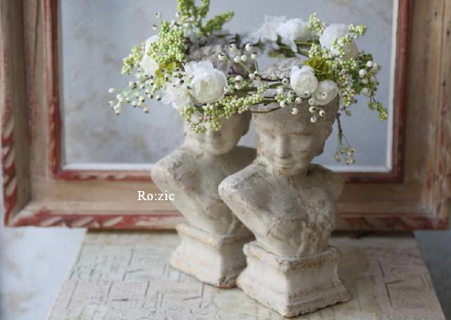 2011.7.11 実がいっぱいの白い花冠とリストレットと 花嫁さま_b0120777_2218634.jpg