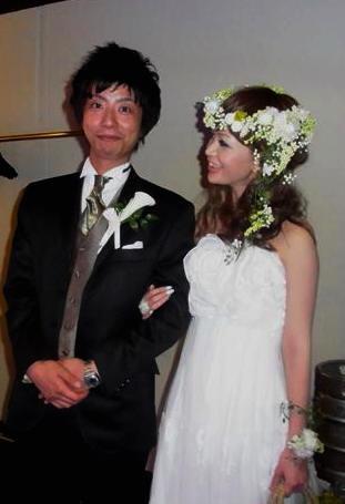 2011.7.11 実がいっぱいの白い花冠とリストレットと 花嫁さま_b0120777_2238253.jpg