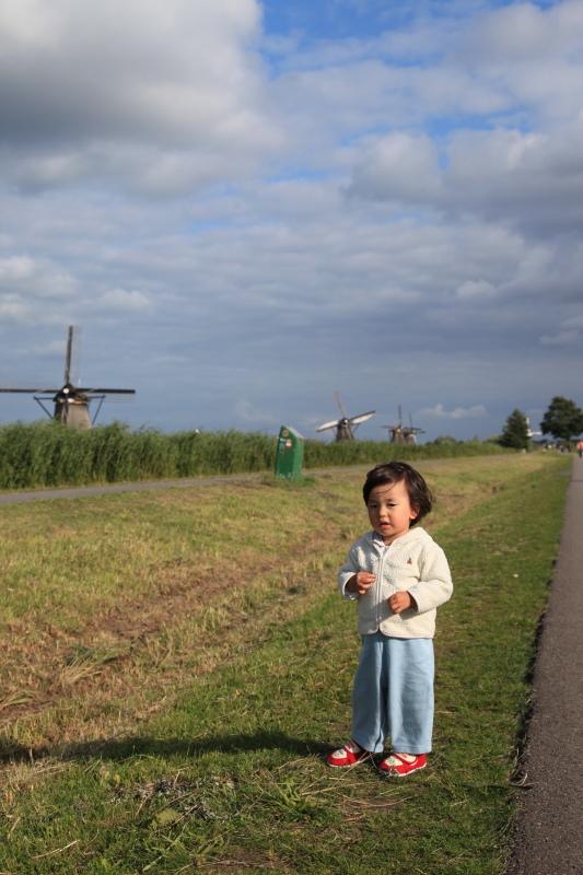 キンデルダイクの風車が回る日_c0187779_331881.jpg