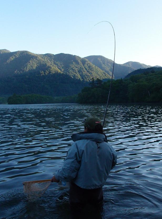 湯の湖釣行!_d0126708_1610767.jpg