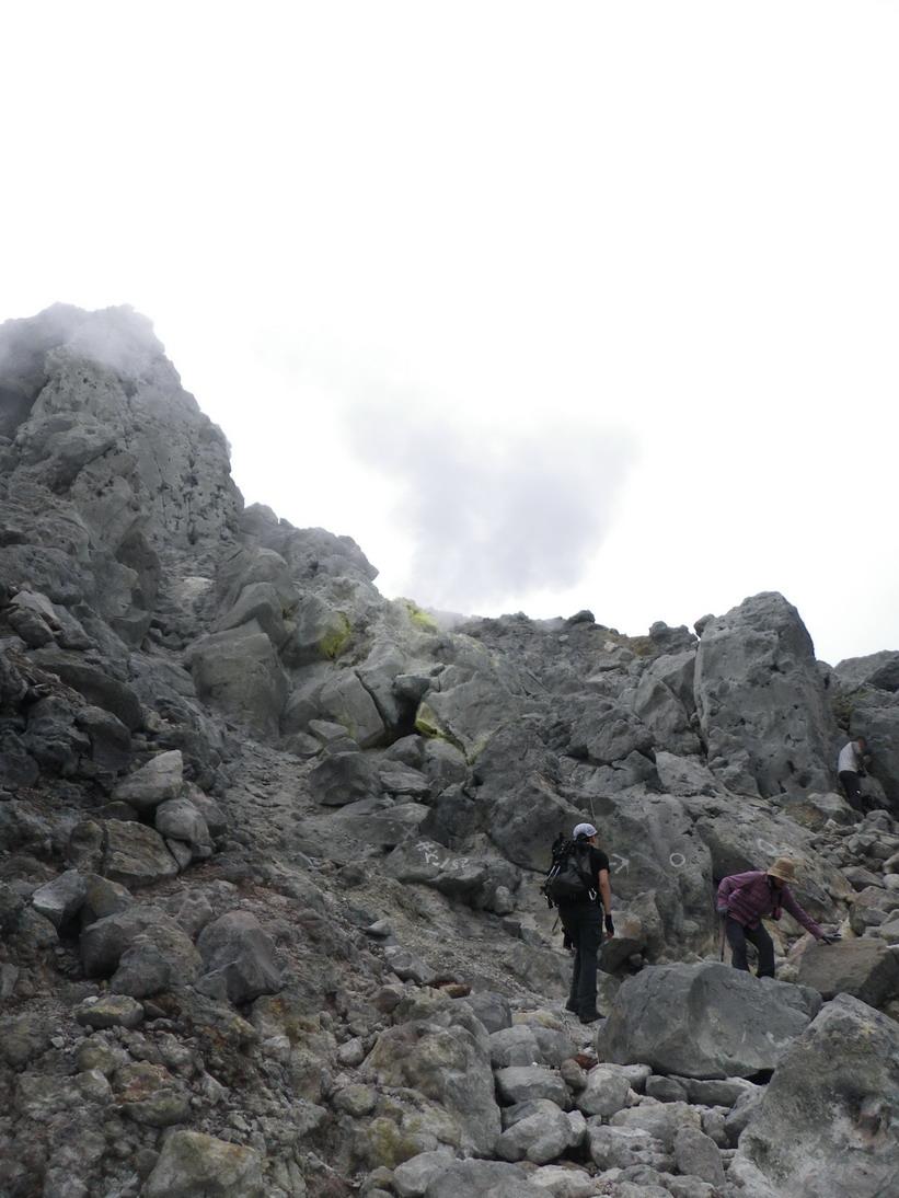 上高地・焼岳登山_b0134026_11324482.jpg