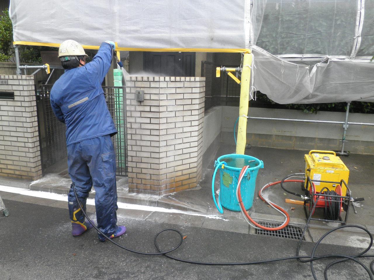戸建塗装工事4_e0164638_14575572.jpg