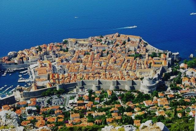 クロアチアの世界遺産ドブロヴニク旧市街_c0011649_12946.jpg