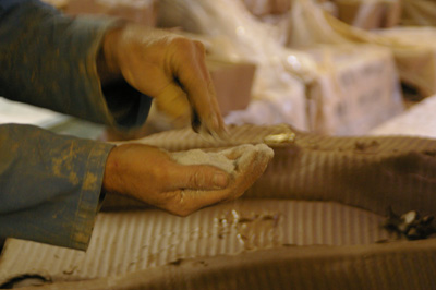 Whichford potteryの粘土_d0229351_22292789.jpg