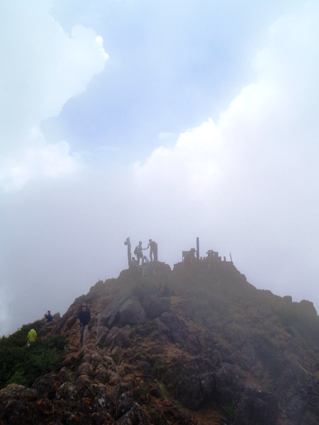 赤岳 真教寺尾根ルート(山頂へ)_c0177814_16272719.jpg