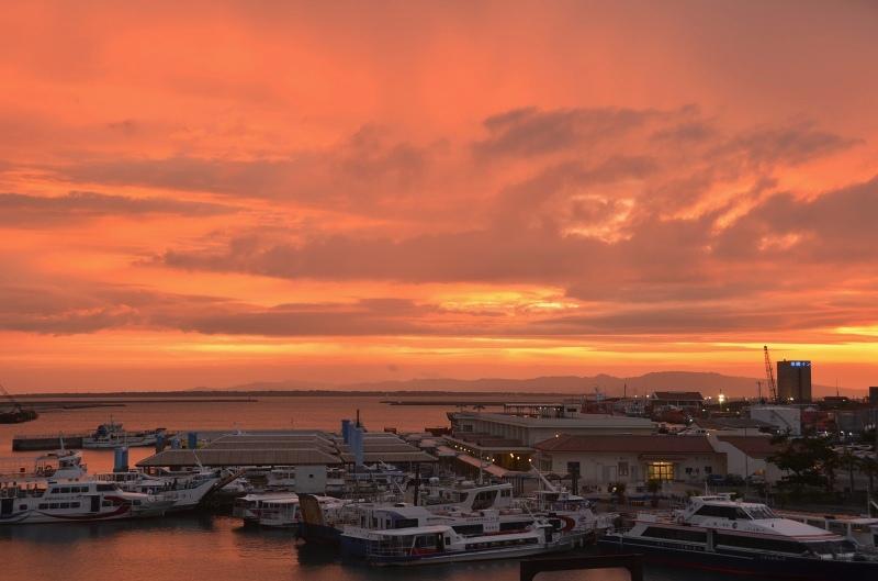 島の夕焼け_d0065116_20112247.jpg