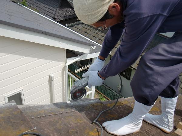瓦屋根の雨漏り修理 ~ 腐食箇所の取替え_d0165368_718776.jpg