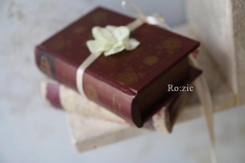 2011.7.13  小さな ブックボックスのリングピロー_b0120777_22503467.jpg
