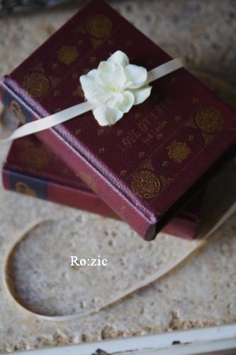 2011.7.13  小さな ブックボックスのリングピロー_b0120777_2256563.jpg
