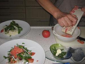 後付食洗機 と 冷たい麺_b0058290_1605038.jpg