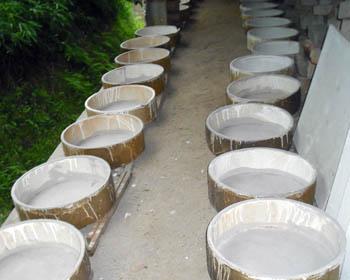 匣鉢(サヤ)掃除_c0081499_12184414.jpg