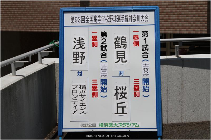 2011 7.13 第93回全国高等学校野球選手権神奈川大会 1_e0200922_0375910.jpg
