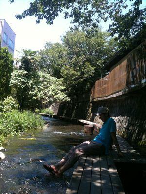 暑い夏は。_e0022948_23463966.jpg