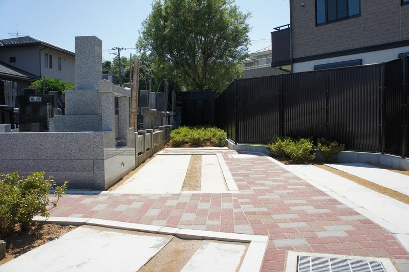第2千代霊園完成  2011.7.12_e0223769_21523936.jpg