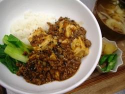 7/14丼ごはん:四川麻婆丼_a0116684_19304381.jpg