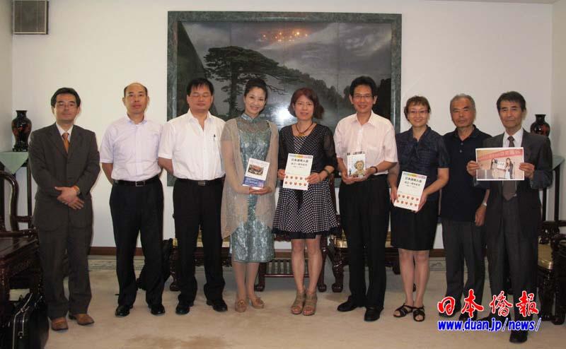 在日本中華人民共和国大使館へ劉総領事を訪問する_d0027795_5545339.jpg