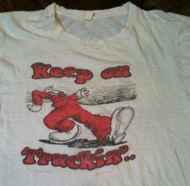 7/16(土)入荷商品!70'S ビンテージ KEEP ON TRUCKN' Tシャツ_c0144020_1402984.jpg
