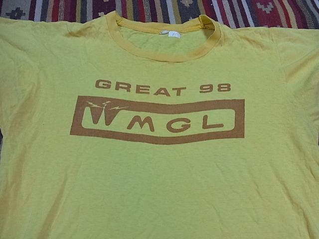 7/16(土)入荷!70'S Tシャツ !染込みプリント。_c0144020_2154228.jpg
