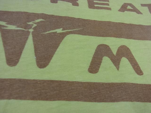 7/16(土)入荷!70'S Tシャツ !染込みプリント。_c0144020_2154379.jpg