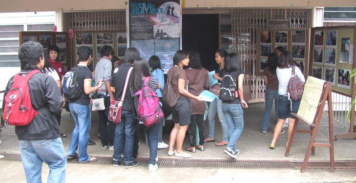 UP Baguio held Japanese Film Festival 日本映画祭_a0109542_1461298.jpg