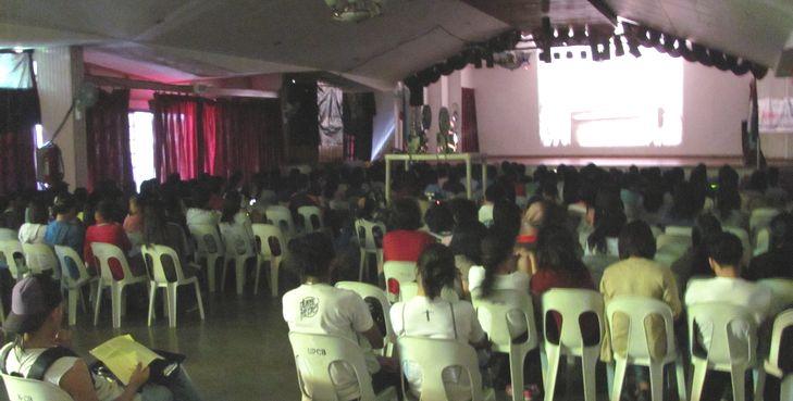 UP Baguio held Japanese Film Festival 日本映画祭_a0109542_1482484.jpg
