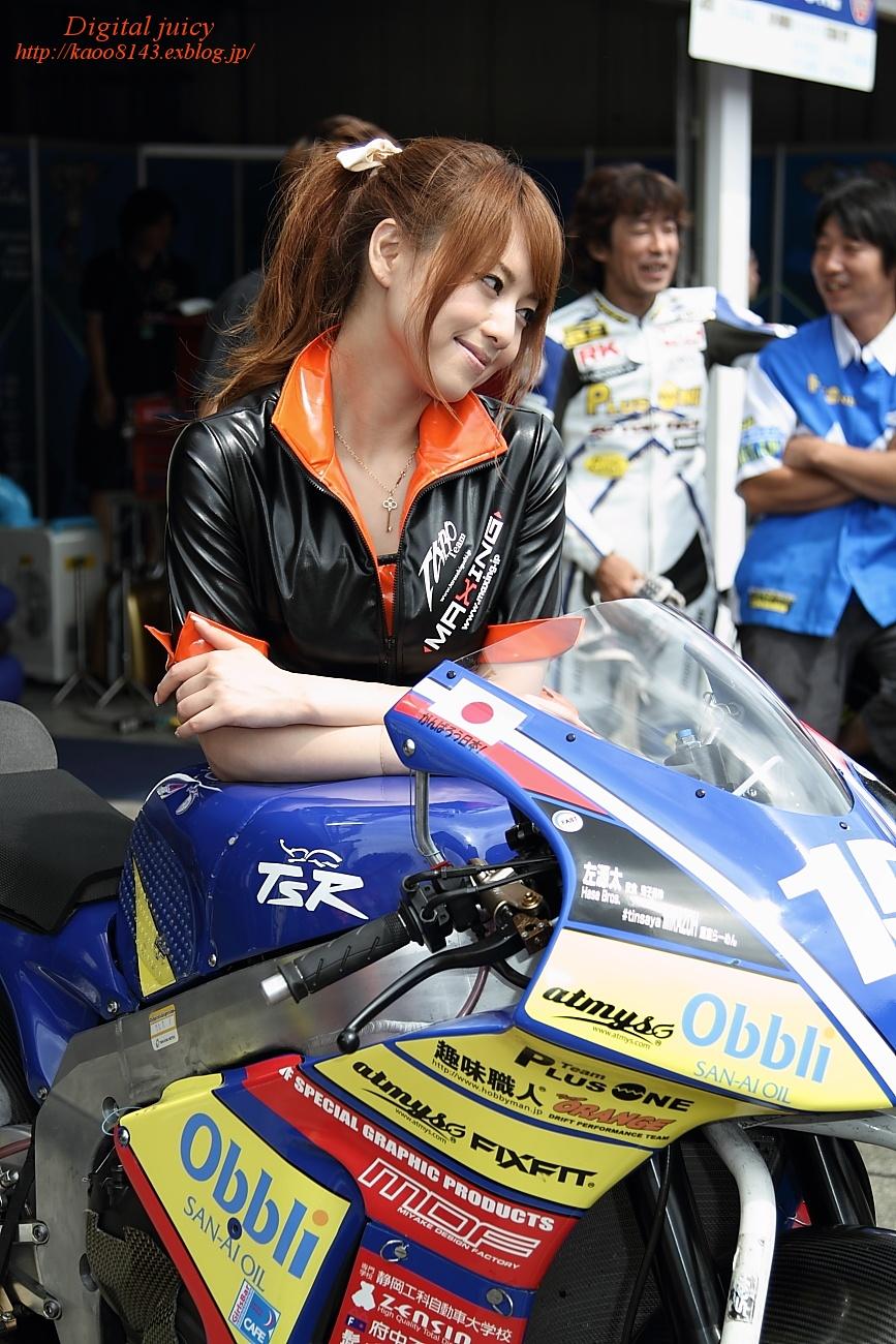 吉沢明歩 さん<MAXINGガールズ>(Team TARO PLUS ONE レースクイーン)_c0216181_20523368.jpg