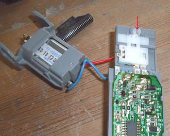 電動シェーバーの修理_c0081499_1626548.jpg